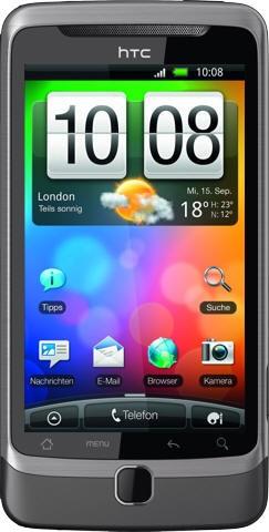 HTC Desire Z  - евроаналог Android-смартфона T-Mobile G2