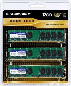 Свежие модули памяти DDR3 от Silicon Power