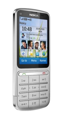 C3 Touch and Type: Жидкокристаллический телефонный аппарат до 150 euro от Нокия