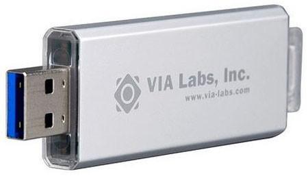 VIA делает сверхскоростные флеш-карты с USB to NAND контроллер