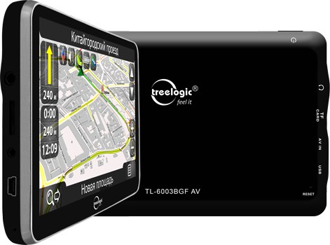 "Treelogic TL-6003BGF AV: 6""- GPS наводчик уже продается"