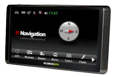 """GL-300HD - 6"""" автомобильный наводчик с дисплеем 800х480"""