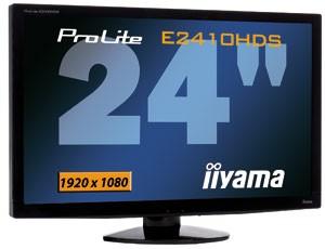 ProLite E2410HDS-1: свежий Full HD дисплей от iiyama