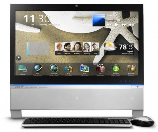 Aspire AZ3100: телевизор на AMD и Intel от Acer