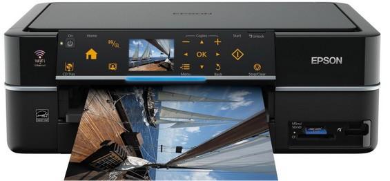 Stylus Photo PX720WD: струйчатое МФУ с Wifi для дома