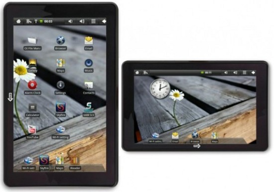 Tablet 6000 - подходящий планшетник на Андроид 2.1 от disgo
