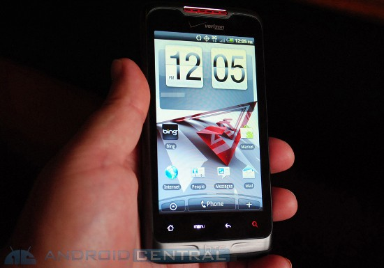 Merge: Двухстандатный Андроид слайдер от HTC (ФОТО)