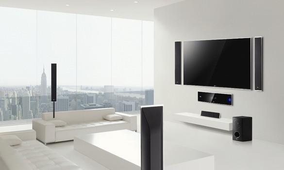 HX995TZ: элегантный бытовой кинозал с Blu-ray 3D от «ЭлДжи»