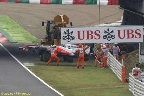 Гран При Японии: 2-я четверть свободных заездов