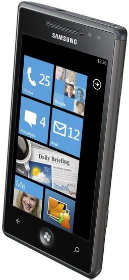 Omnia 7: первый телефон на Виндоус Phone 7 от «Самсунг»