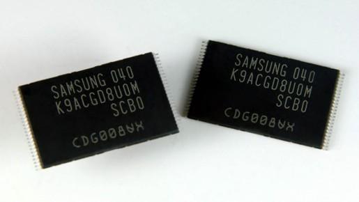 «Самсунг» перешла к производству 3-битной MLC NAND памяти 2х hm