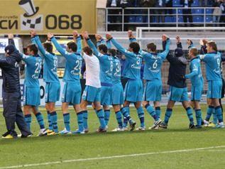 Зенит забил по голу за каждое удаление