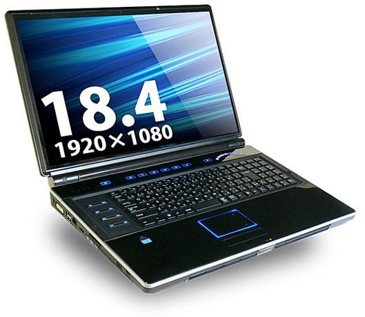 "Lesance BTO GSN801GAW: 18,4"" мощный геймерский ноутбук"