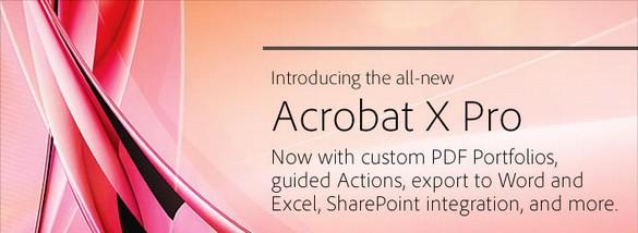 Acrobat X: весь мультимедийный контент в едином формате
