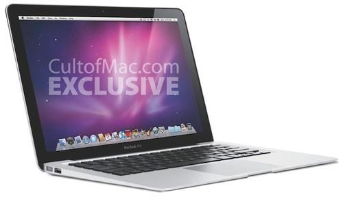 Новый MacBook Air сможет работать 10 часов + расширяемая RAM