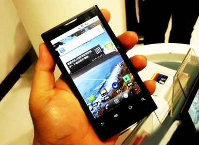 """Ideos X5: Гуглофон с 4,1"""" экраном от Huawei (ФОТО)"""