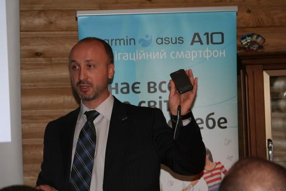 Новые навигационные смартфоны Garmin-Asus уже в Украине ФОТО