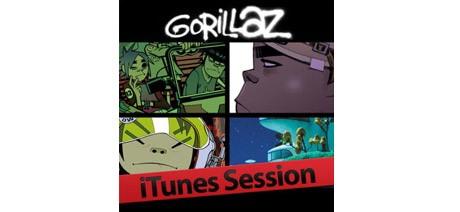 Gorillaz представили концертный EP на iTunes