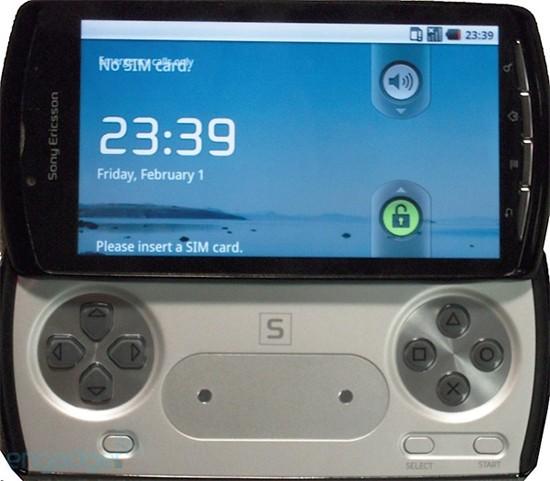 Сони Эриксон PlayStation: первые компоненты устройства (ФОТО)