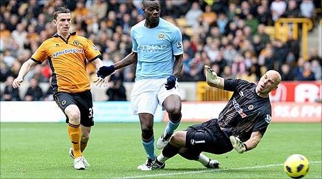Вулверхэмптон обставил Манчестер Сити - 2:1