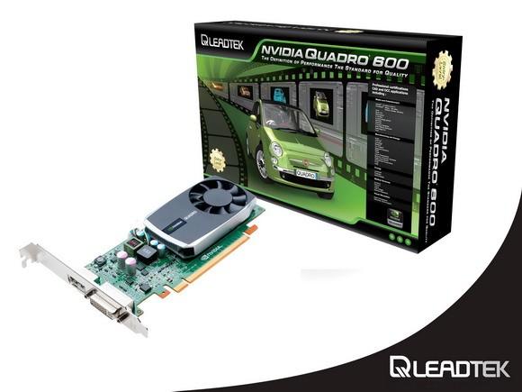 Leadtek обновила семейство квалифицированных графических адаптеров Quadro