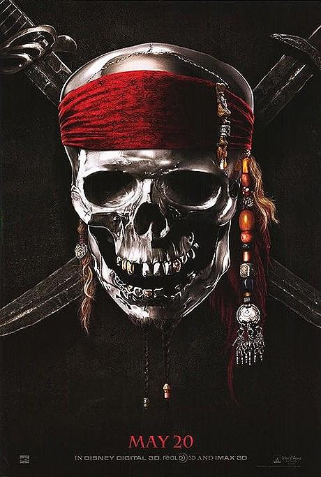 В наши сети попал плакат к «Пиратам Карибского моря 4»