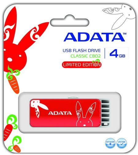 ADATA C802: торжественный флэш-накопитель с дорогим чертежом