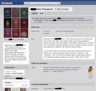 Фейсбук применяли для торговли фальшивыми документами в недорогих отелях в Праге в центре