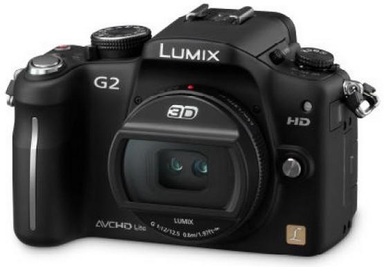 Lumix G2: 3D-фотоаппарат от Sony