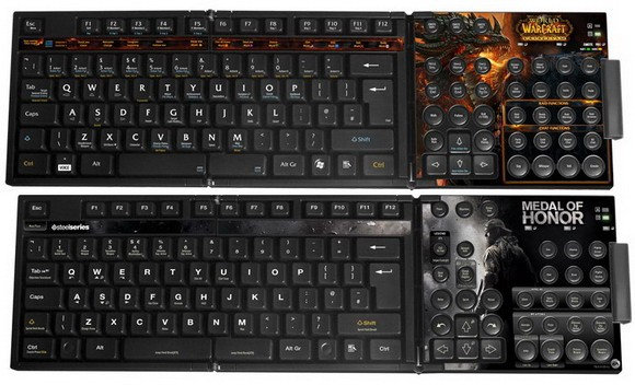 SteelSeries MMO Keyset: клавиатура-контроллер для игр MMO