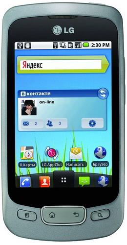 «ЭлДжи» Оптимус One: подходящий Android-смартфон с Андроид 2.2