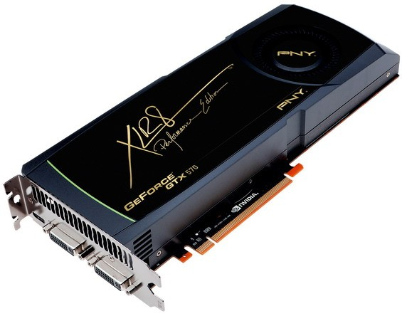 GeForce GTX 570: новая карта памяти на Fermi