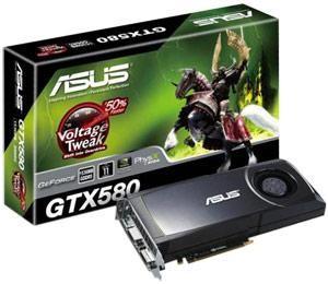 GeForce GTX 500: свежие карты памяти из серии GeForce от ASUS