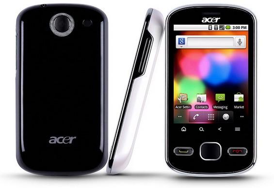 Acer beTouch E140: элегантный, производительный, малогабаритный и подходящий