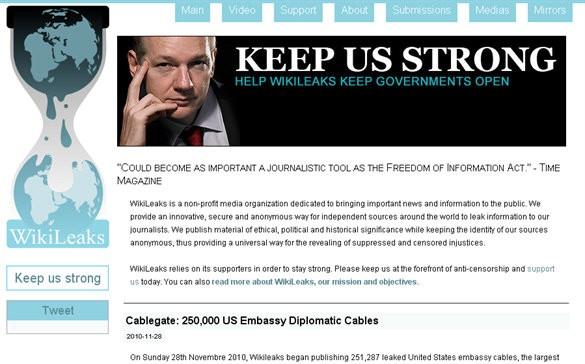 Trend Micro дала Wikileaks высочайшую степень опасности