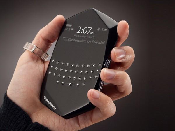 BlackBerry Empathy: первые фото концепта (ВИДЕО)