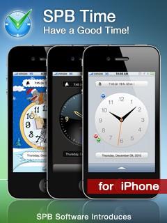 SPB Тайм: часы и будильники для Айфон и iPod на каждый вкус