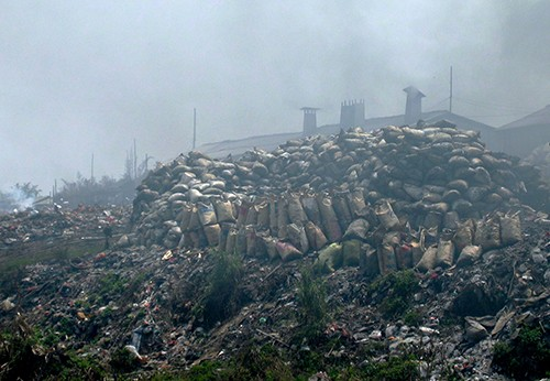 Сюда скидывают весь электронный мусор во всем мире (ФОТО)