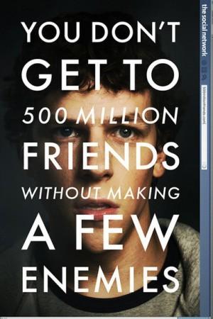Кинофильм Финчера о молодом Цукерберге объявлен самым лучшим в 2010 году
