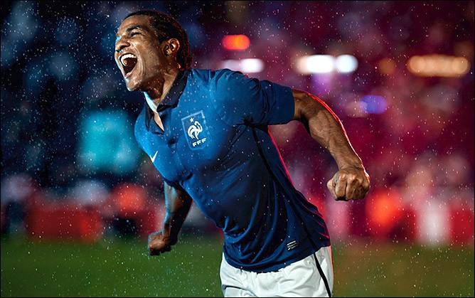 Новая выкройка сборной Франции от Nike (ФОТО)