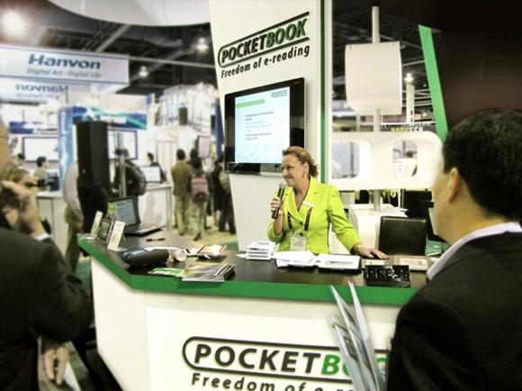 PocketBook продемонстрировал всю серию ридеров на CES 2011