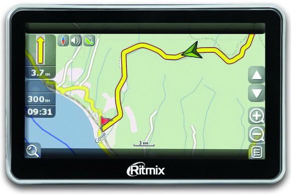 RGP-470: свежие GPS-навигаторы на Atlas 5 от Ritmix (ФОТО)