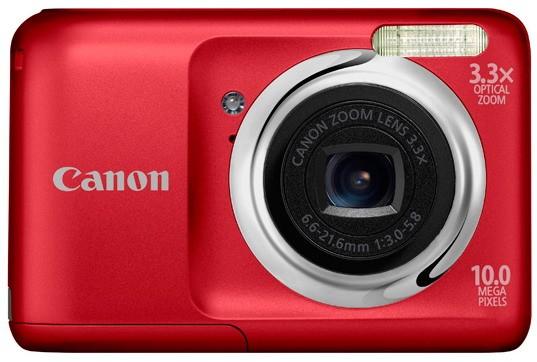 PowerShot A800: элементарная и дешевая мини-камера от Canon