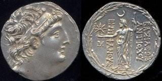 На античной монете рассмотрели месячное затмение Юпитера (ФОТО)
