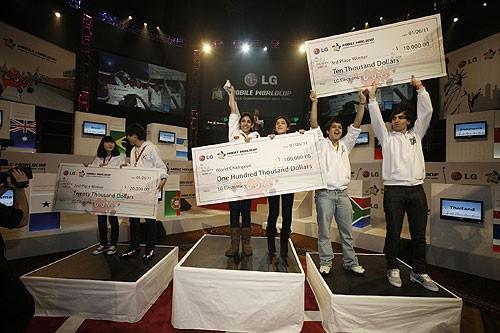 «ЭлДжи» выдала 100 000 долларов США быстрейшим наборщикам СМС