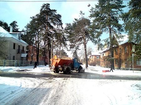 Из Киева вывезли более 2,5 миллионов тонн снегопада