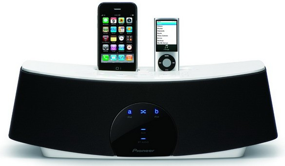 XW-NAC1: аудиосистема с док-станциями под Эпл от Pioneer