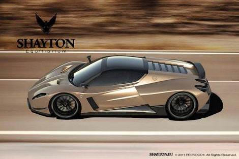 Славянский суперкар потеснит владычество Bugatti Veyron (ФОТО