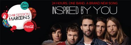 Maroon 5 запишут песню за 24 дня при помощи фанов