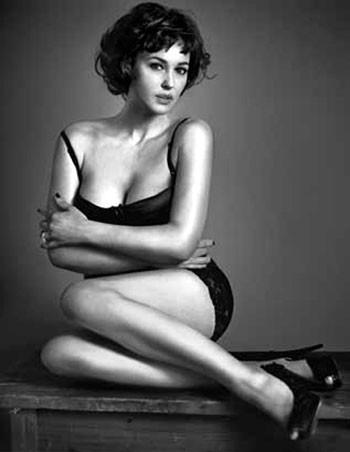Моника Беллуччи в собственные 46 снялась для GQ (ФОТО)